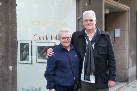 Jan Almlof and Connie