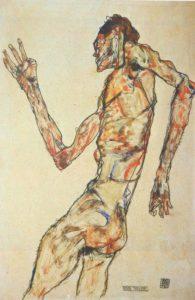 Egon-Schiele-The-Dancer-1913