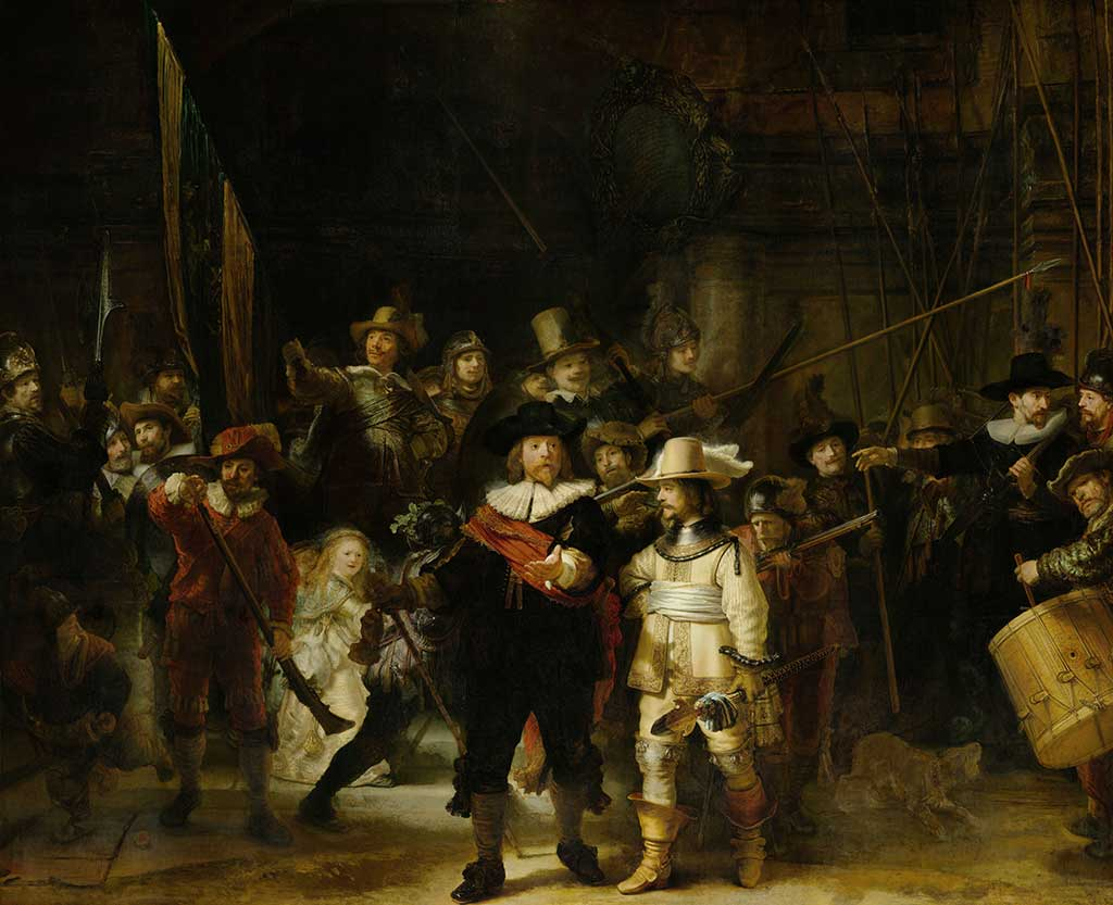 The Nightwatch by Rembrandt, 1642